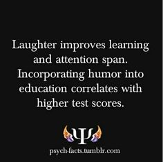 This is what I'm always telling my co-workers! Make the classroom fun! You keep the students engaged and you trick them into knowledge! Psychology Says, Psychology Quotes, School Psychology, Abnormal Psychology, Color Psychology, The More You Know, Just For You, Classroom Fun, Motto