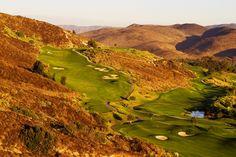 10th hole at Tierra Rejada Golf Club  370 yard par 4