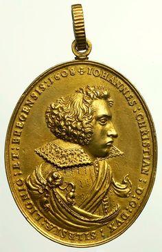 Pendant medal of John Christian, Duke of Liegnitz-Brieg (Legnica-Brzeg) by Anonymous from Brzeg, 1608, Zamek Królewski w Warszawie (ZKW)