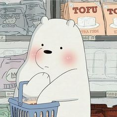 We Bare Bears, cute Ice Bear We Bare Bears, We Bear, Cute Disney Wallpaper, Cute Cartoon Wallpapers, Cartoon Icons, Bear Cartoon, Vintage Cartoons, We Bare Bears Wallpapers, Bear Wallpaper