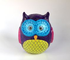 1000 images about sophia 39 s paper mache project on for Diy paper mache owl