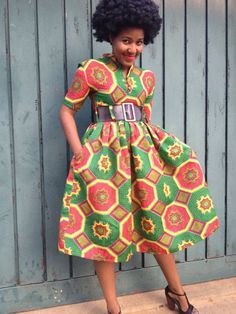 Afrocentric Prints by Rina Chunga on The Alter-Ego Fashion Blog