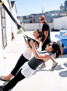 4 reasons to try TRX. I love that it's so efficient.