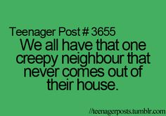 but stares at you out their window...