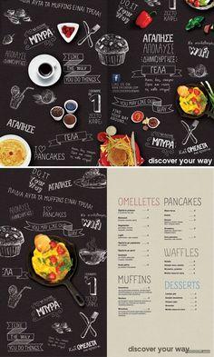 19个新鲜食欲大增国外菜谱菜单设计-平面...