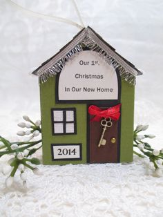 First Christmas in New Home Our 1st. Home by TheMemoryKeeperShop