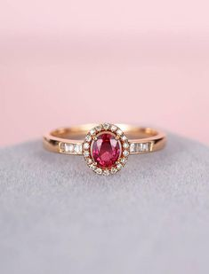 vintage engagement ring rose gold oval engagement ring women