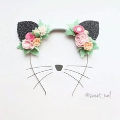 52 Best Cat Ears Headband Images Cat Ears Headband Cat