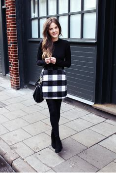 48 Casual Work Outfits For Women with Skirt - Women Fashion . - Business Casual Outfits for Women Stylish Winter Outfits, Casual Work Outfits, Winter Outfits For Work, Work Casual, Church Outfit Winter, Chic Outfits, Women Work Outfits, Winter Dresses For Work, Office Outfits For Ladies