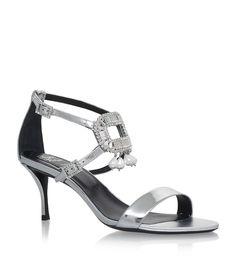 Roger Vivier Tiffany Embellished Sandals | Harrods.com