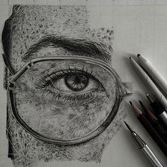 Extrem detaillierte Zeichnungen von Monica Lee