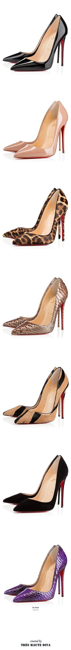Christian Louboutin 'So Kate' Fall 2014 #leopard #louboutin #lovely