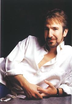 Alan Rickman - Got to me first as Sheriff of Nottingham...still gets to me.