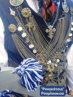 Greece Pictures, Greek, Jewellery, Traditional, Wedding Dresses, Fashion, Bride Dresses, Moda, Jewels