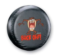 Taz Spare Tire Cover From Amazon  To get huge discounts off Amazon Products, use the Amazon Discount Tool at >> www.findoffers.info   Select your country and category you want to find deals in and search!  #HugeDiscounts #Sales #Man #SpareTires #90%Off #ManThings #Deals #AmazonDiscountFinder  #Offers