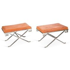 Check out this item at One Kings Lane! Classic X Benches, Pair