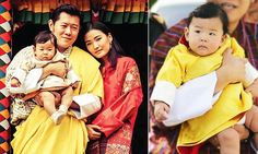King Jigme Khesar Namgyal Wangchuck, 36, and Queen Jetsun Pema, 26, visited the Bumthang district this week. The royals brought their son, Prince Jigme Namgyel Wangchuck.