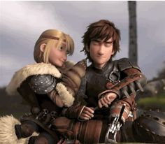 I also fell from the chair in this part #hiccup and astrid #love they
