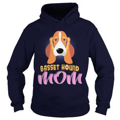 Do You Love Your Dog Basset Hound Head Mom? This Is For You! Buy now!