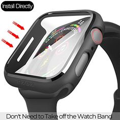COMPATIBLE: Compatible with Apple Watch Series 6 /5 /4 /SE (44mm). Ultra-thin PC protective case with screen protector allows quick and easy installation, Perfect fit for your watch. MATERIAL: Durable PC & PET material cover the screen and edges. Full cover protect your iWatch, prevents scratches and wear. Apple Watch Features, Cute Handbags, Sports Activities, Apple Watch Series 1, Watch Case, Tempered Glass Screen Protector, Protective Cases, Watch Bands, Cell Phone Accessories