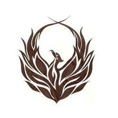 Tribal Phoenix Tattoo idea for my ankle