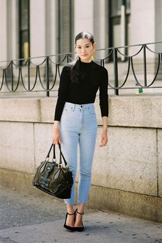 (Out: High Waisted Jeans. Yep, never has a Mom jean inspired anything other than carpools) What's In And What's Out For Spring 2015, According To Google | The Zoe Report