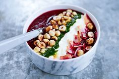 Beetroot soup for Hello Zdrowie magazine.