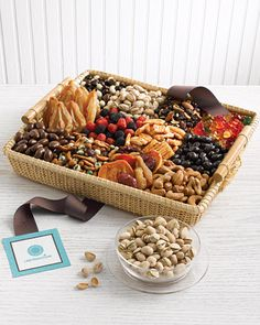 Sweet and Savory Snack Tray Buffet Displays, Bar Ideas, Gift Ideas, Snack Trays, Tapas Recipes, Cocktails, Drinks, Savory Snacks, Woodland Baby