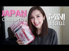 Japan Cosmetics Mini Haul   First Impression   minimalistStyling