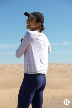 Get UV protection wherever you go in the sun, with our lightweight, loose-fitting Sole Training Long Sleeve