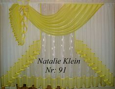 Фотография Drapery Designs, Valance Curtains, Projects To Try, Home Decor, Blinds, Christmas Deco, Kleding, Decoration Home, Room Decor
