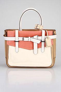 Reed Krakoff - Boxer Handbag In Natural.