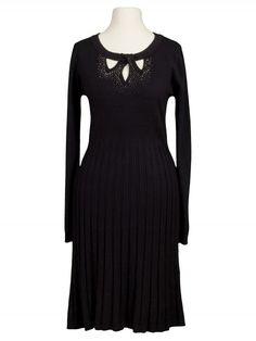 Damen Strickkleid, schwarz von Anny bei www.meinkleidchen.de