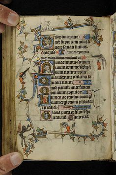 Book of Hours, MS M.754 fol. 75v - Images from Medieval and Renaissance Manuscripts - The Morgan Library & Museum