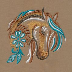Hand Embroidery Art, Machine Embroidery Projects, Free Machine Embroidery Designs, Embroidery Applique, Embroidery Stitches, Horse Quilt, String Art Patterns, Horse Pattern, Tribal Tattoos