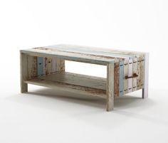 Naam: Rope Me COFFEE TABLE | Designer: Hugo Revuelta | Merk: Karpenter | Gelanceerd: 2012 | Land: Indonesië | Materiaal: 100% FSC sloophout en marinetouw | Afmetingen: 100x60x40 cm | Mijn mening: Weer bij het merk Karpenter zie je duurzaamheid naar voren komen. Ik vind het mooi dat er geen nieuwe grondstoffen worden gebruikt maar dat je een enorm vintage meubel kan maken van iets bestaands.