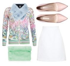 """Casual Day Out"" by juliapharris97 ❤ liked on Polyvore featuring Topshop, Patrizia Pepe, Lilly e Violetta and Dolce&Gabbana"