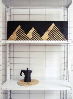 Meks Mountains Painting Acrylic osb black acrylic by osblove