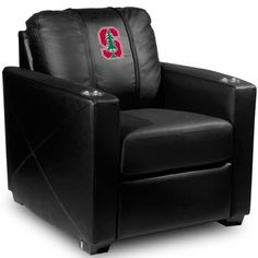 Stanford Cardinal Silver Series Chair by DreamSeat