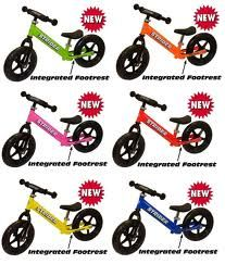 strider bikes - six colors to choose from