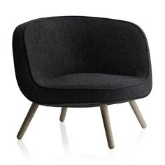 Shop SUITE NY for the Easy Chair by Bjarke Ingels and KiBiSi for Fritz Hansen and more contemporary Danish contract lounge seating Fritz Hansen, Chair Design, Furniture Design, Nordic Furniture, Furniture Chairs, Skyline Design, Lounge Seating, Lounge Chairs, Danish Design
