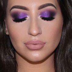 Fantasy Purple Smokey Eyes - Super Easy Makeup Tutorial | Melissa Samways🎥Tutorial in my YouTube Channel😍Subscribe💞  All the products used is in description box💋Link in my Bio    Fantasy Purple Smokey Eyes - Super Easy Makeup Tutorial | Melissa Samways🎥Tutorial no meu canal do YouTube😍Inscreva-se💞Todos os produtos usados estão na descrição do vídeo💋Link na minha Bio…