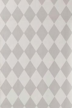 Ferm Living tapet Kvalitet: Non woven. Størrelse: 10.05 x 0.53 m. Mønsterrapport: Lige 13.3 cm. Beskrivelse: Tapet Harlequin.