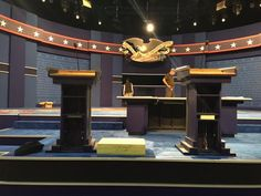 Clinton's debate podium larger than Trump's: report - NY Daily News