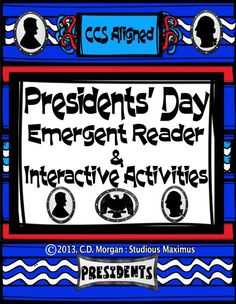 This CCS aligned Presidents' Day product offers interactive and engaging activities that will help all students practice reading, writing, and improve reading comprehension. Students will work on both literacy and mathematical skills: writing, reading, sight words, Venn Diagram, Idea web, comprehension, writing prompts, graphing, addition, color by number, word search, counting by 5s, counting by 10s. #presidents #literacy #math