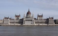 Parliament of Hungary in Budapest - A budapesti Parlament