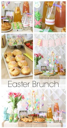 Put together a fun and festive Easter brunch for kids. Help them remember the reason for Easter with all these fun details.