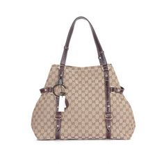 Gucci New Charlotte Large Gg Fabric Tote 247393 Coffee Uk Clearance