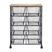 Found it at Wayfair - Woodland Imports Serving Cart