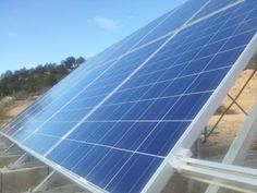 campo solar acabado